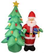 opblaasbare kerstfiguren