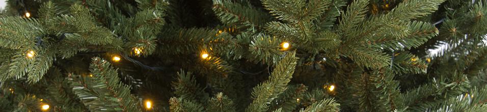 Kunstkerstbomen met verlichting