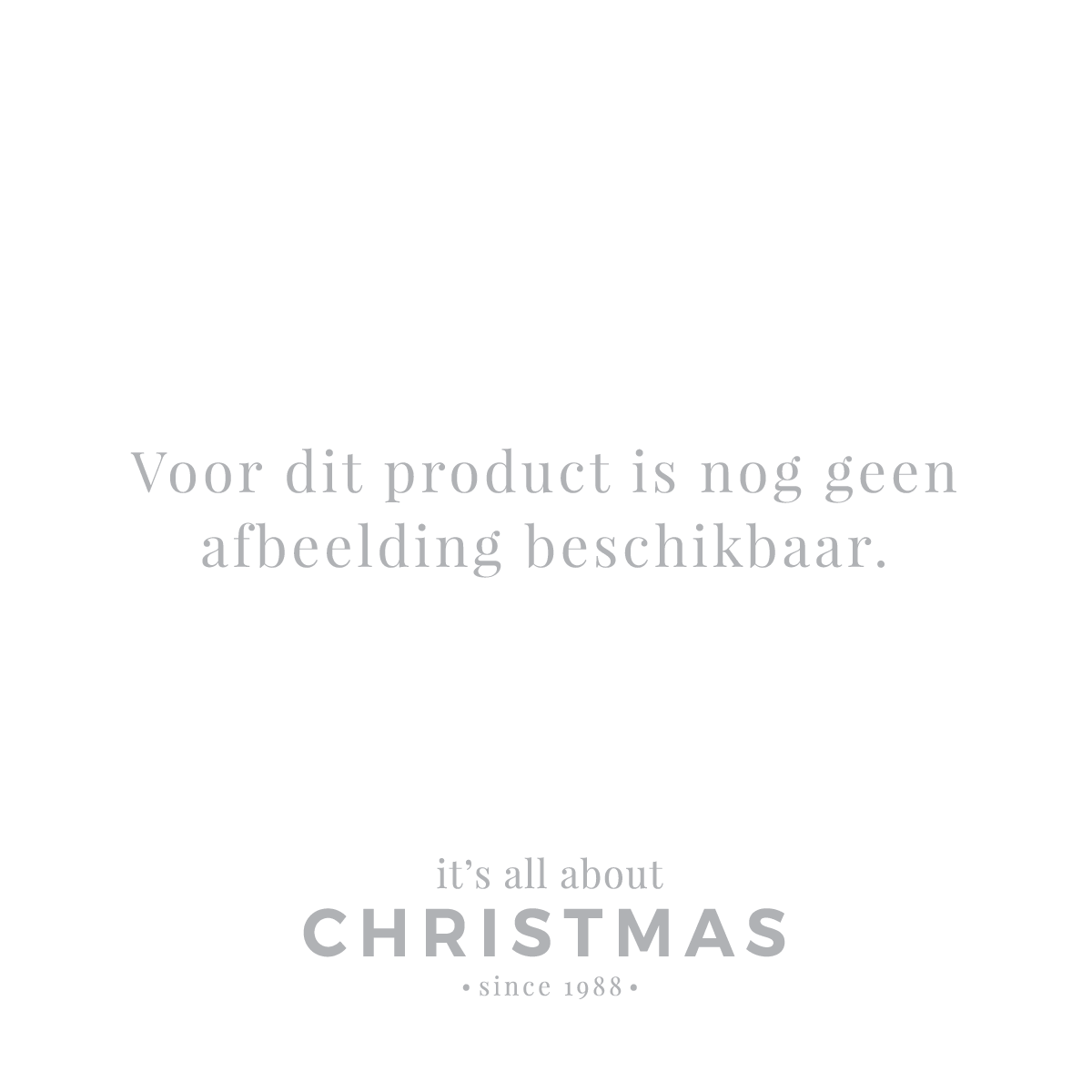 Luxe kerstman staand 30cm wit