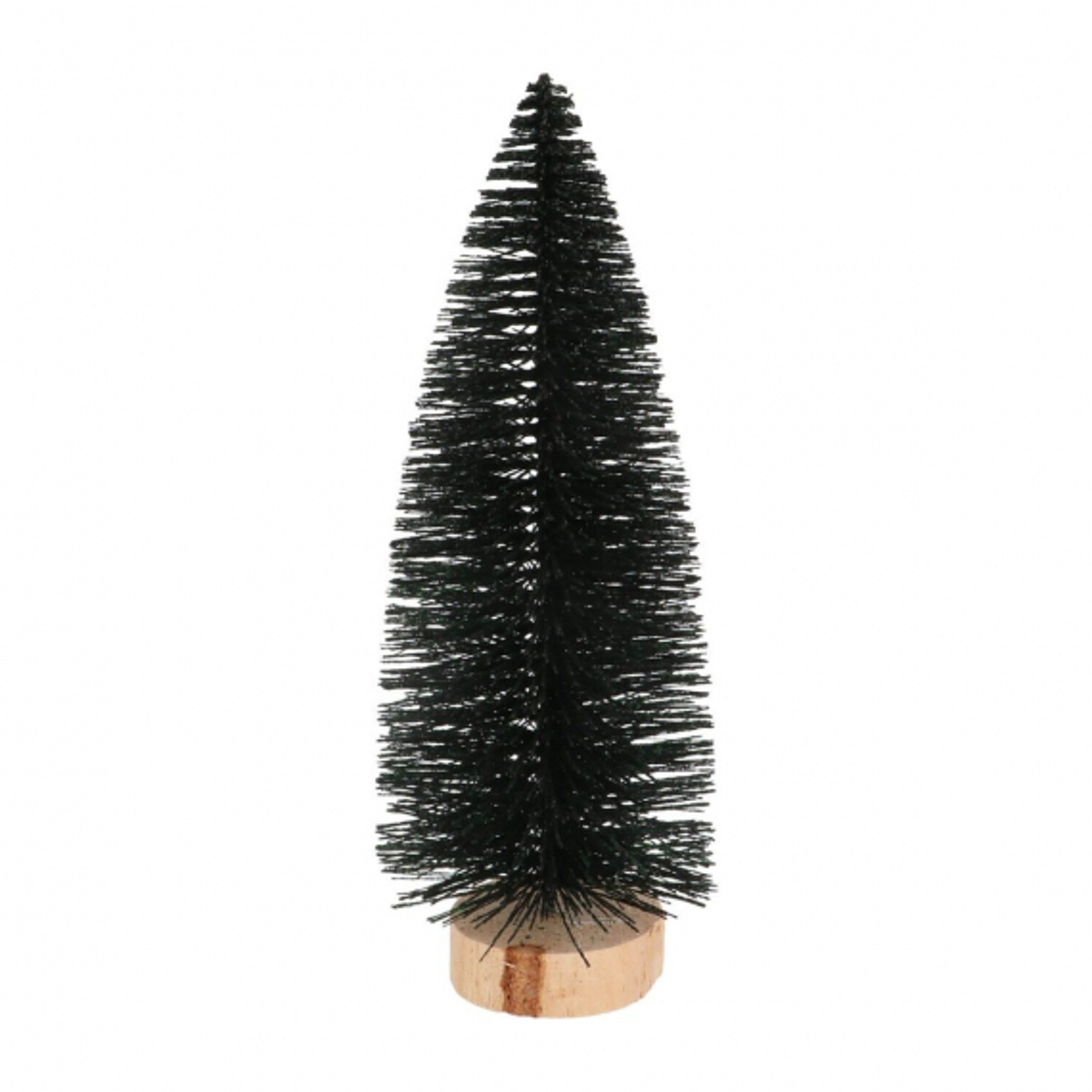 Kerstboompje zwart 20 cm
