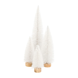 Kerstboompje wit 40 cm