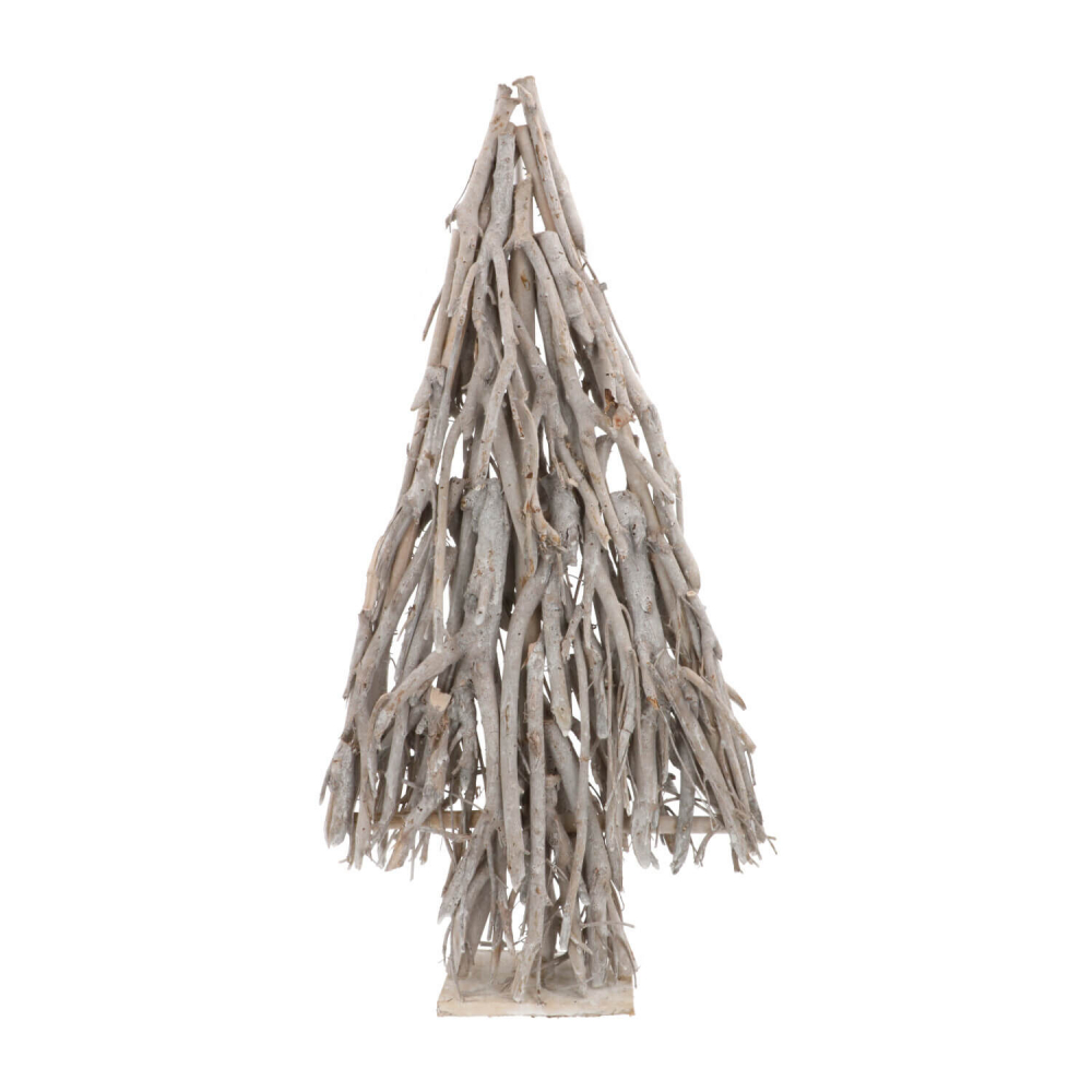 Kerstboom van takken 75cm white wash
